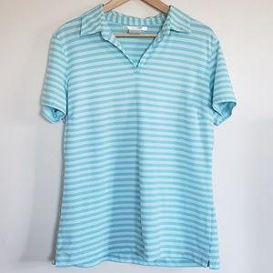 Nike Golf - Striped - Collared - Dri Fit - XL